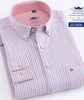 100% Cotton Fashion Long Sleeve Shirts