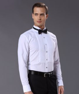 Fashion Cotton Men Shirts Tuxedo Shirt