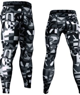 3D Printed Camouflage Joggers Leggings